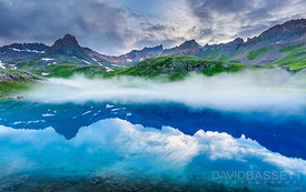 Fog over Glass | San Juan Mountains, CO