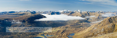 Kintail mountains from above Glen Affric - BP2972B