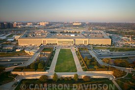 Aerial photograph of the Pentagon
