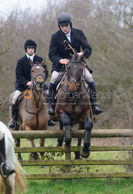 Sam Davies Thomas jumping at Brick Kiln