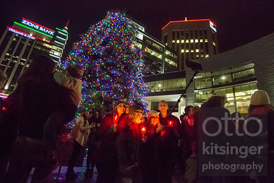 Boise City tree lighting 2016