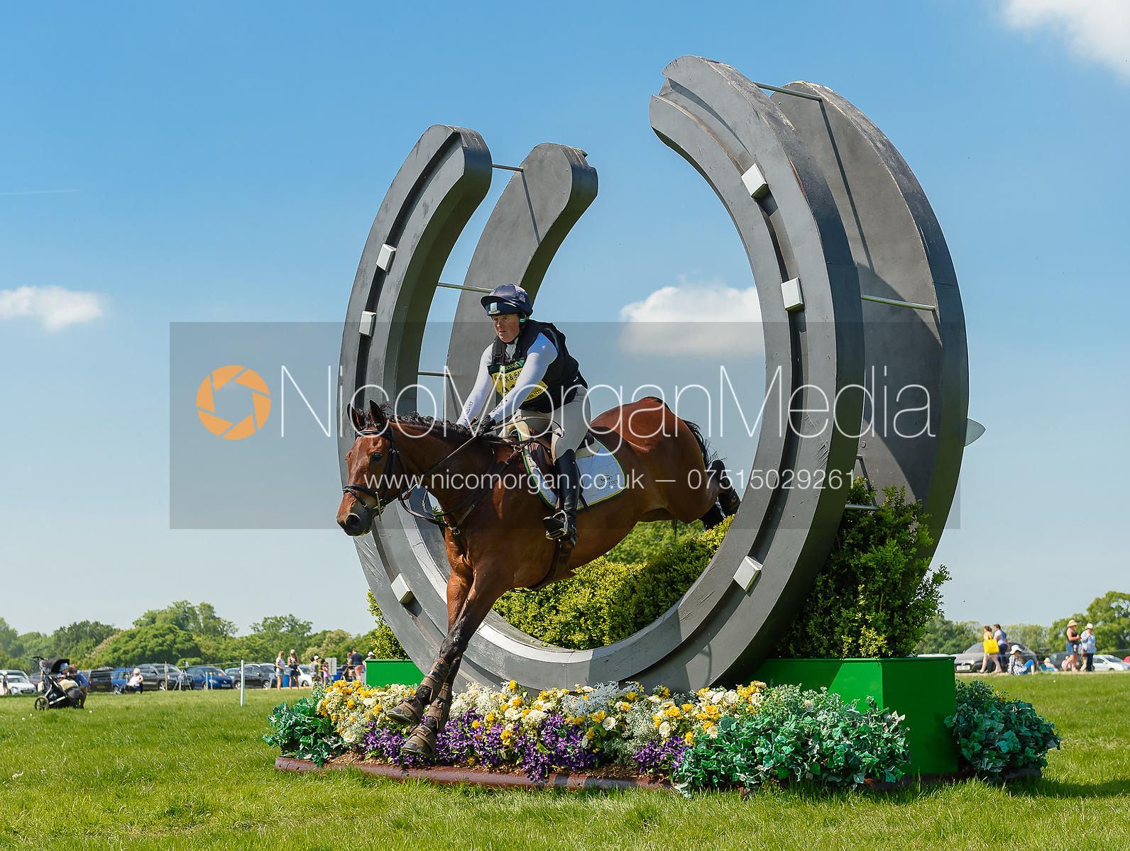 Pippa Funnell and MAYBACH, Fairfax & Favor Rockingham Horse Trials 2018