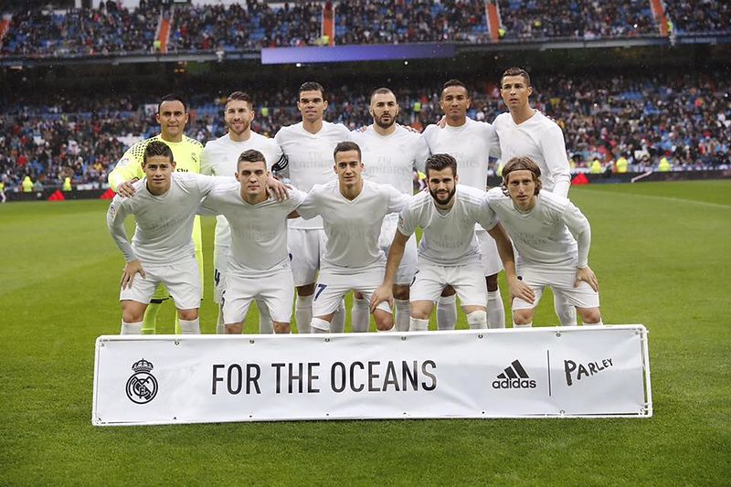 FOR THE OCEANS  with Real Madrid