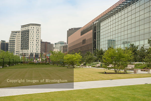 The Hive and Masshouse buildings, Eastside, Birmingham, West Midlands, England, UK