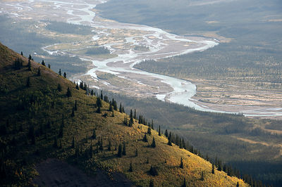 Silverberry River, Backbone Range, Mackenzie Mountains, Northwest Territories, Canada