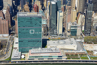 United Nations Building Manhattan New York