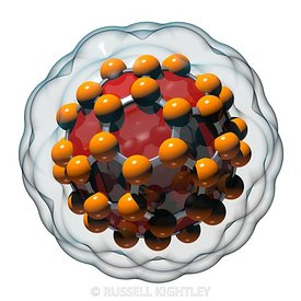 Buckminsterfullerene or Buckyball C60 #24