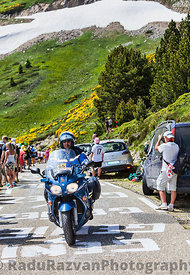 Police Bike of  Tour of France