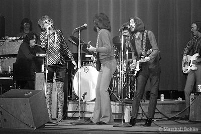 Delaney & Bonnie with Eric Clapton in 1970 at the Auditorium Theatre, Chicago