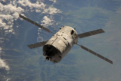 ABOARD THE INTERNATIONAL SPACE STATION -- 15 June 2013 -- The European Space Agency's Automated Transfer Vehicle-4 (ATV-4)
