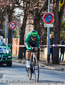 The Cyclist Malacarne Davide- Paris Nice 2013 Prologue in Houilles