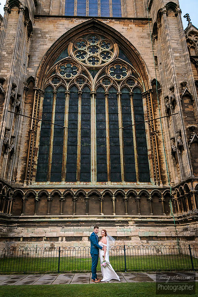 Wedding at Lincoln Cathedral & The Lincoln Hotel, Lincoln, Lincolnshire, UK