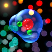 Water Molecule with photons