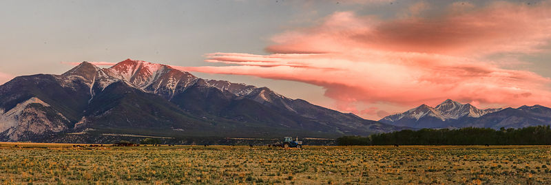 Mount Princeton Sunrise Panorama