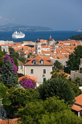 La ville de Dubrovnik et ses toits Croatie / The city of Dubrovnik and its roofs Croatia