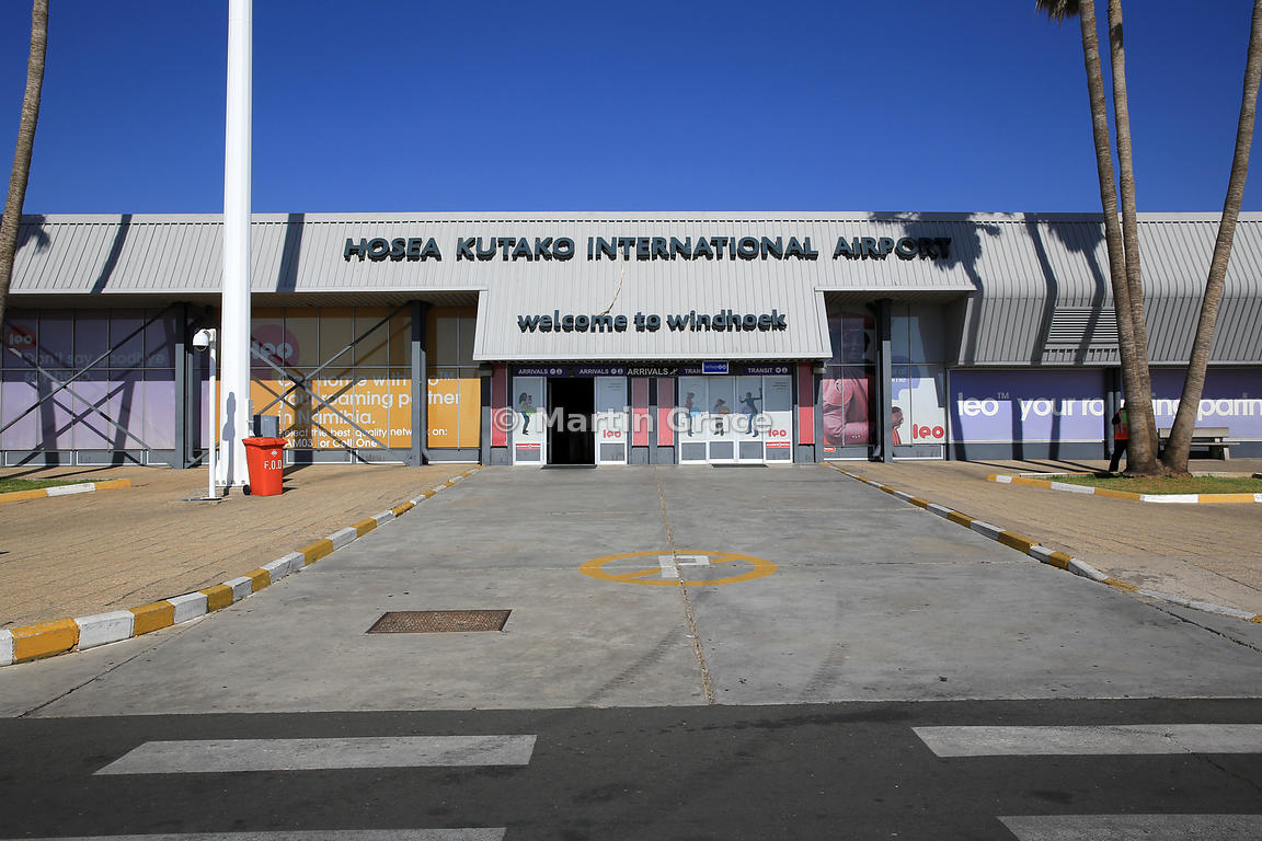 Hosea Kutako International Airport, Windhoek, Namibia