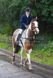 Clare Bell - The Cottesmore Hunt at Belton-in-Rutland 21/12