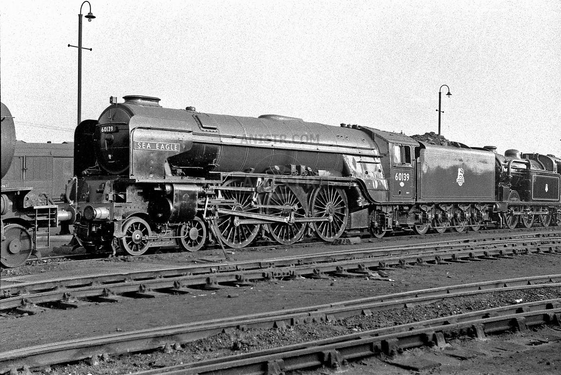 Steam loco A1 60139 Doncaster Works