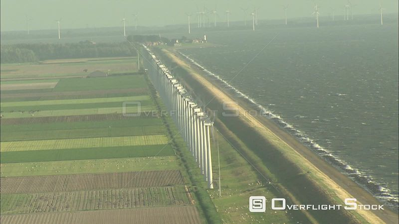 Wind Turbine Farm Netherlands