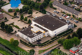 Ede - Luchtfoto Sporthal 't Riet