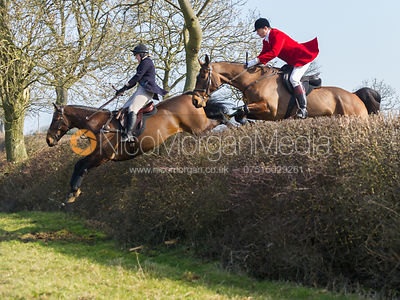 The Cottesmore Hunt at Ladywood Lodge 5/3