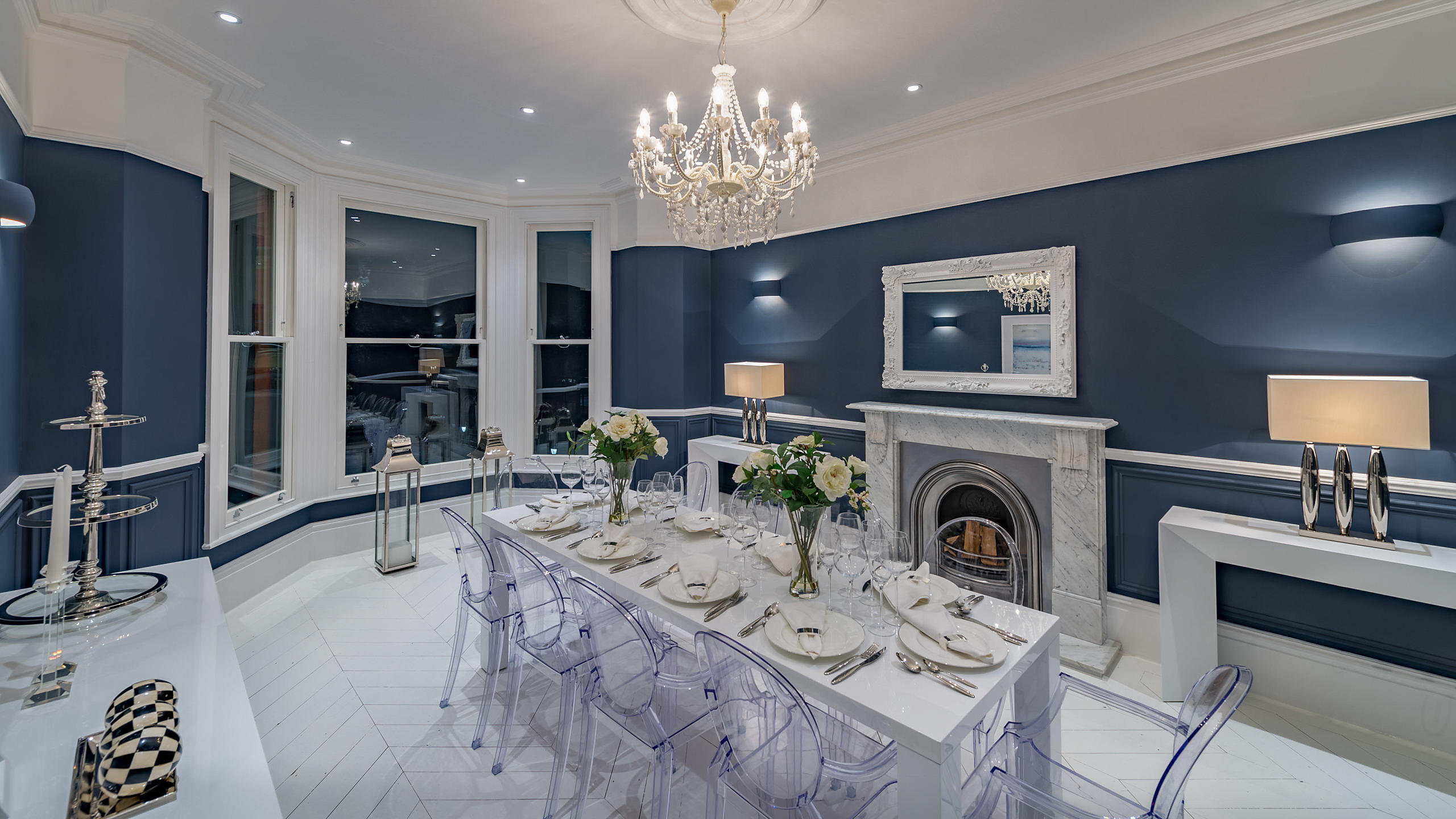 Luxury Property Interior Dining Room