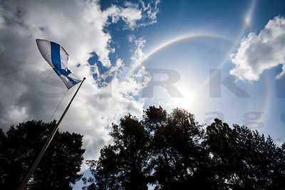 Halo and the flag of Finland