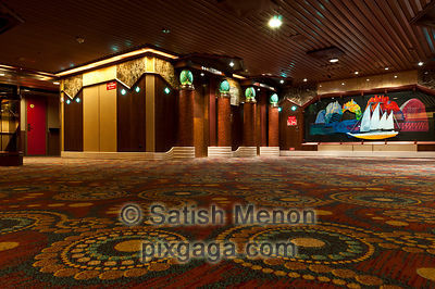 Carnival Cruise Interior, Hallway and Elevators