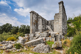 Ancient ruined city of Adada, Turkey.