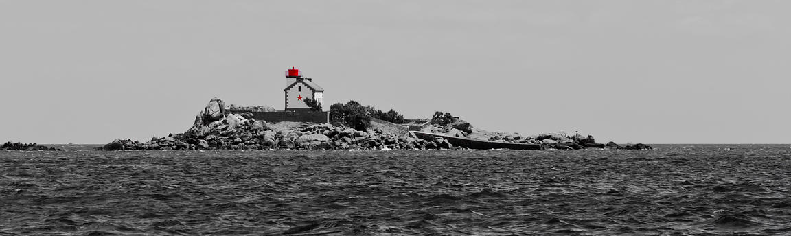 Ile Harbour lighthouse