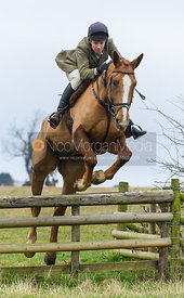 William Bell - The Cottesmore Hunt at Burrough House 18/12