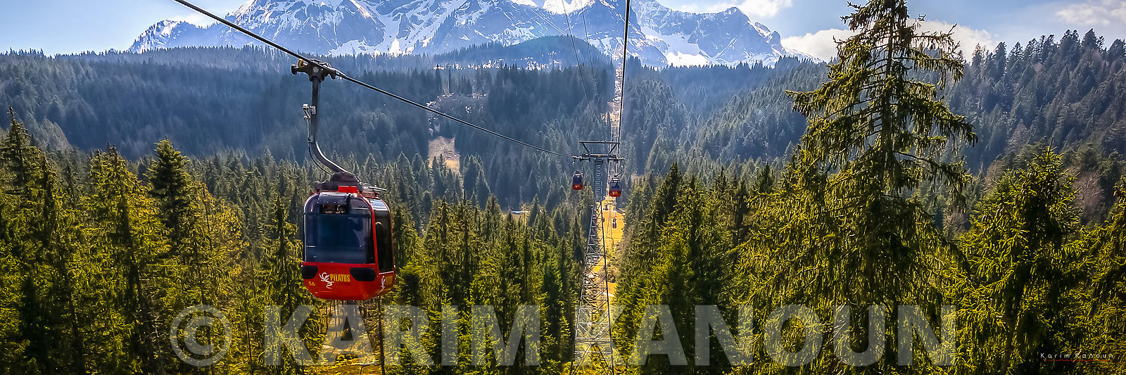 Panorama - Pilatus cable car - Lucerne