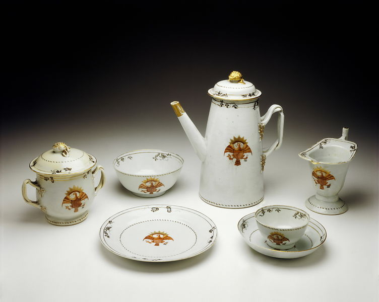 Commodore Perry's tea set
