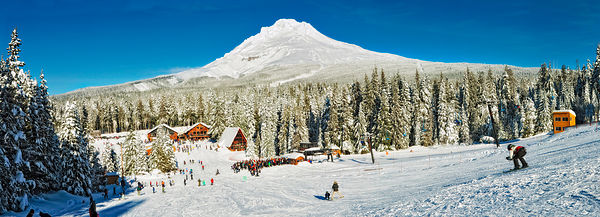 Skibowl, ski resort, Oregon, U.S.A.