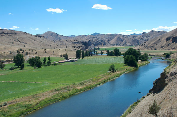 John Day River near Bowerman Ranch