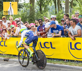 The Cyclist Michael Albasini - Tour de France 2015