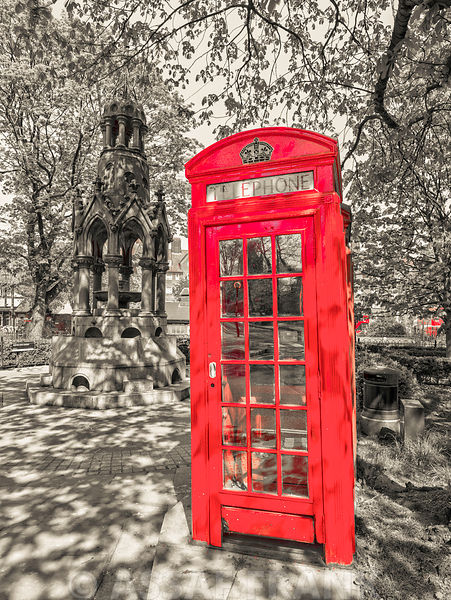 Telephone Booth, Hampstead Heath