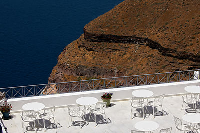 A restaurant on the cliff edge