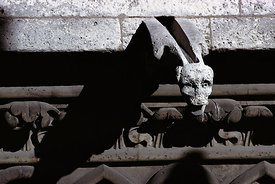 Gargoyle on Notre Dame Cathedral, Paris