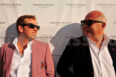 Christian Jott Jenny mit Rolf Sachs Opening Night Festival da Jazz- Live at Dracula in St.Moritz