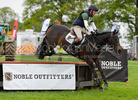 Simon Grieve and BONHUNT BERTIE - Rockingham International Horse Trials 2017