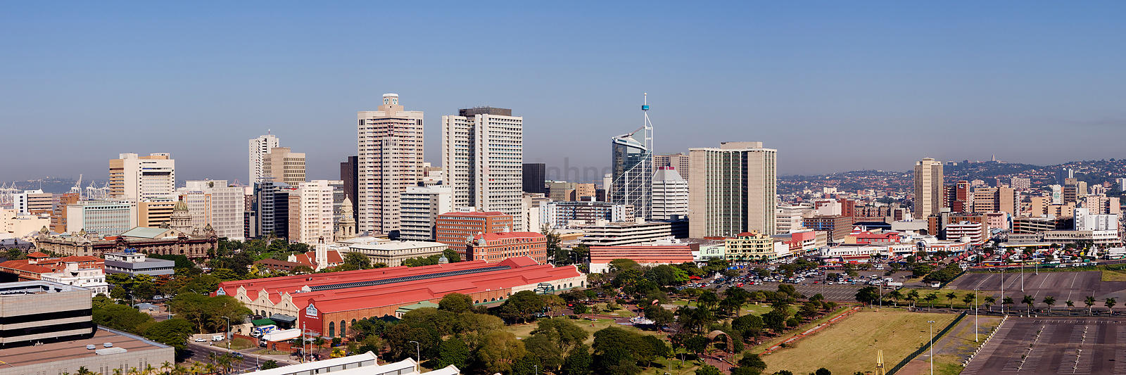 Skyline of the City of Durban