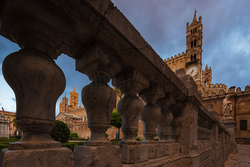 Palermo Cathedral at Dawn