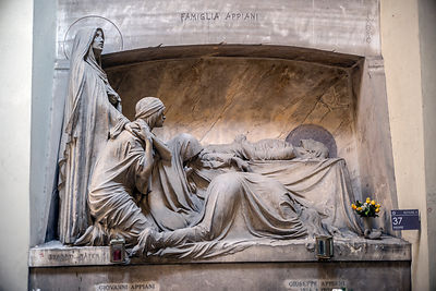 The Appiani Family Tomb In The Staglieno Cimitero Monumentale, Genoa