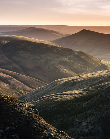Morning on Kinder plateau