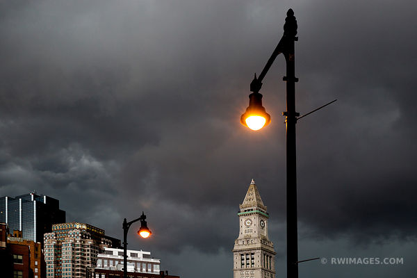 STORMY SKIES OVER BOSTON