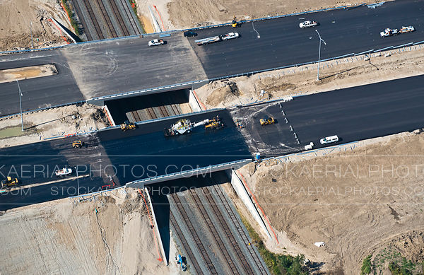 Highway Overpass Construction