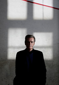Stirling, Scotland.15.9.13.Pic Shows: William McIlvanney...Crime fiction fans are under no suspicions as they gather on a wee...