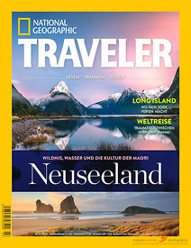 National geographic traveler Deutschland cover