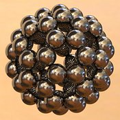 Buckminsterfullerene or Buckyball C60 #7